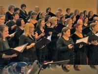 Chorus rehearsing