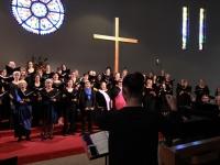 Choir in rehearsal