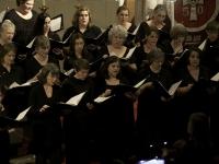 Altos singing