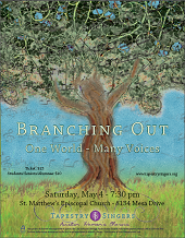Branching Out - One World, Many Voices Program Cover