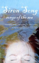 Siren Song - songs of the sea Program Cover