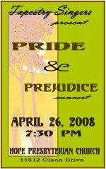 Pride and Prejudice Program Cover