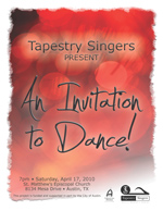 An Invitation to Dance Program Cover